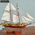 Holzschiff Modelle Kits Pädagogisches Spielzeug Modell Boote Holz 3d Laser Cut Model Schiff Montage Diy Zug Hobby maßstab 1: 96 Harvey