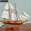 Maquetas de Barcos Modelos de Barcos de madera Kits de Juguetes Educativos De Madera 3d Modelo de Nave del Corte del Laser-Asamblea Diy Tren Afición escala 1: 96 Harvey