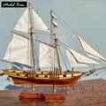 Modelos de Navios de madeira Kits Modelo de Brinquedo Educativo Modelo de Barcos De Madeira de Corte A Laser 3d-Navio-Montagem Diy Trem Passatempo escala 1: 96 Harvey