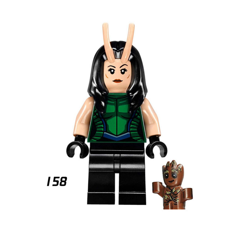 Single Sale Super Heroes Star Wars 158 Mantis Model Mini Building Blocks Figure Bricks Toys Kids Gifts Compatible Legoed Ninjaed