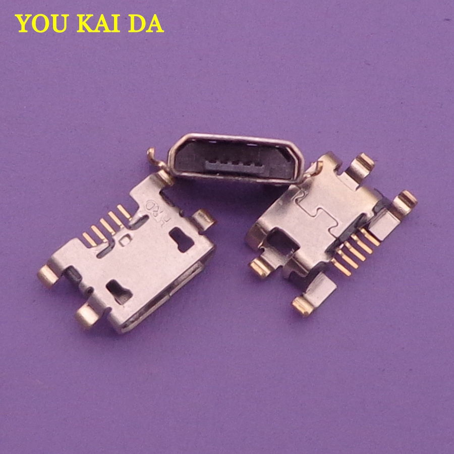 10pcs Micro Mini USB Jack Socket Connector Charging Port Dock Plug Female 5 Pin For Homtom HT10 Doogee X20 X30