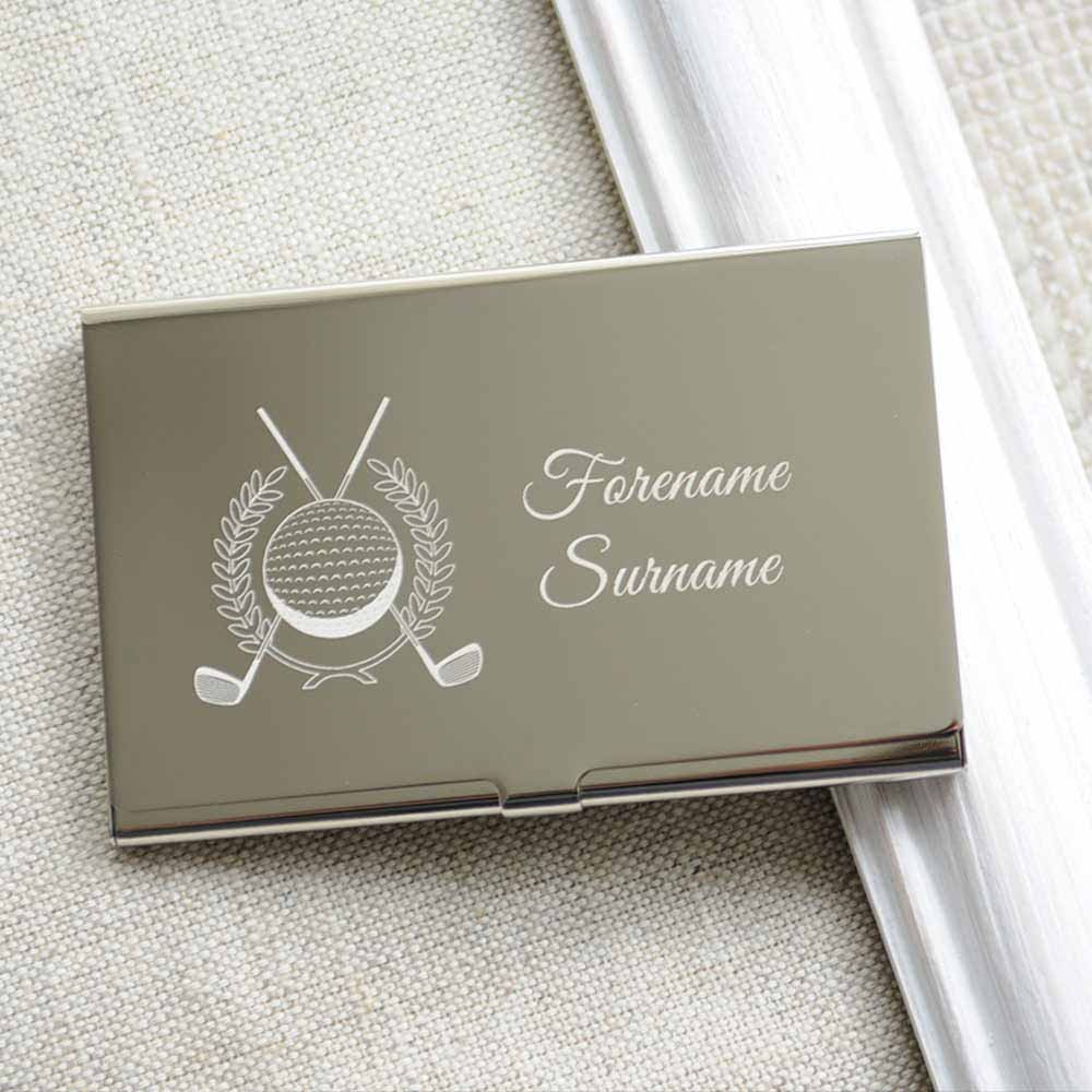 Silver Business Card Holder | Unlimitedgamers.co