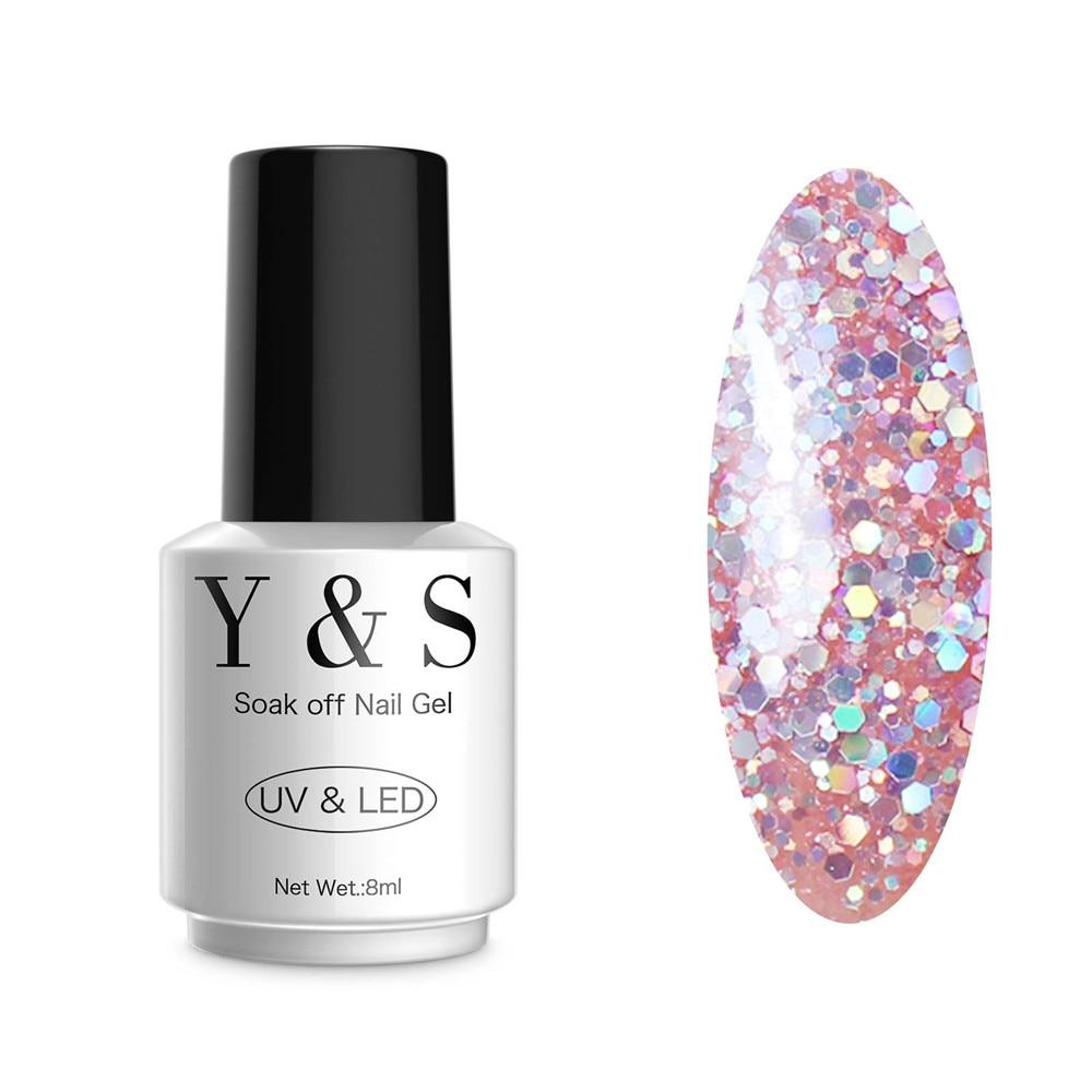 Glitter Nail Polish Buy: Aliexpress.com : Buy Y&S 1pcs Soak Off Nail Gel Polish