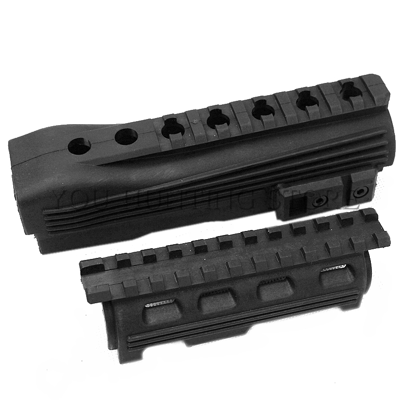 Tactical Hunting Airsoft Rifle Gun Accessories AK 47 104 Strikeforce Polymer AK Series Handguard Upper lower Rails and inserts(China)