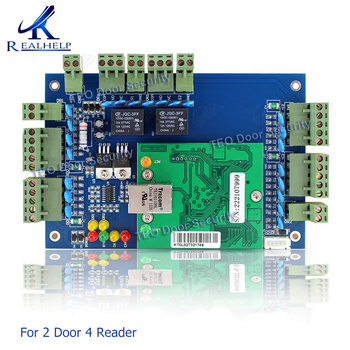 Hot sell TCP/IP Network Access Control Board Controller system Panel  For 2 Door 4 Reader Wiegand