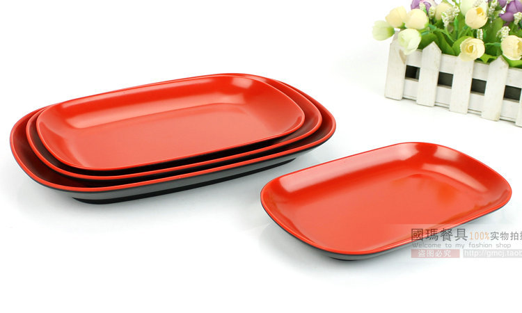 9.5INCH Japanese Style Top Quality Melamine Imitate Porcelain Plates Hotel Plastic Food Container Western Restaurants Pasta Dish-in Disposable Plates from ...  sc 1 st  AliExpress.com & 9.5INCH Japanese Style Top Quality Melamine Imitate Porcelain Plates ...