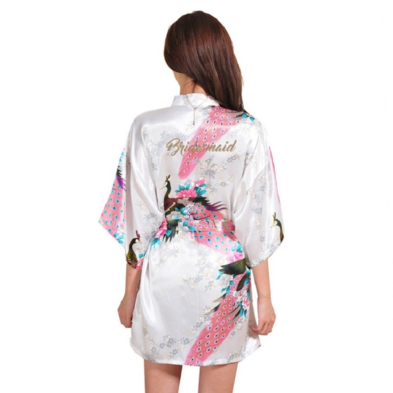Women's Sleepwear Nightgowns Bath Ropes Summer Satin Sleepshirt  Floral Nightdress Nightwear Home Night Gown Comfortable