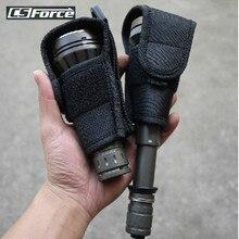 Тактический фонарик с большой головкой, чехол-кобура с зажимом для UF700L/C8/501D HUGSBY S3Torch, держатель для фонарика, чехол для переноски