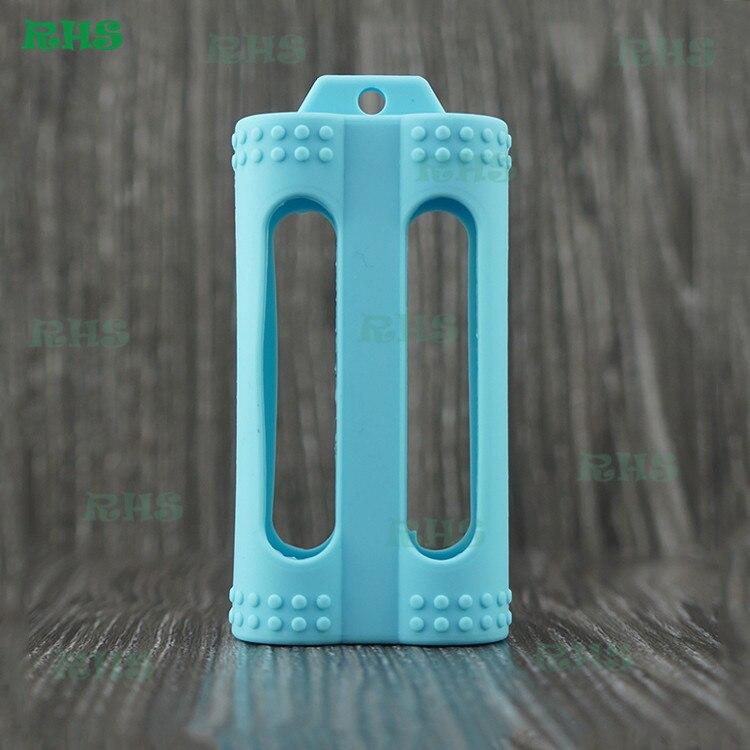 10 шт. 100% пищевой силиконовый чехол для 2600 мАч 3.6-3.7 В литий-ионный Перезаряжаемые Батарея, CJ 18650 Батарея Бесплатная доставка