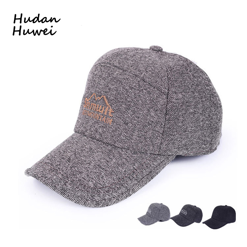 6d43c87c4d6 drop shipping Retro Japanese color matching wool soft top baseball hat  female winter casual wild warm cap male trend