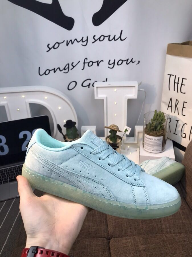 2018 New Arrival Puma Suede CLASSIC Man's and Women's Sports Leisure Sneakers Ba