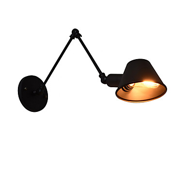 IWHD Rustic Loft Vintage Wall Lamp Edison Beside Bedroom Stair Bathroom Industrial Retro LED Wall Light Fixtures Sconces Lampara