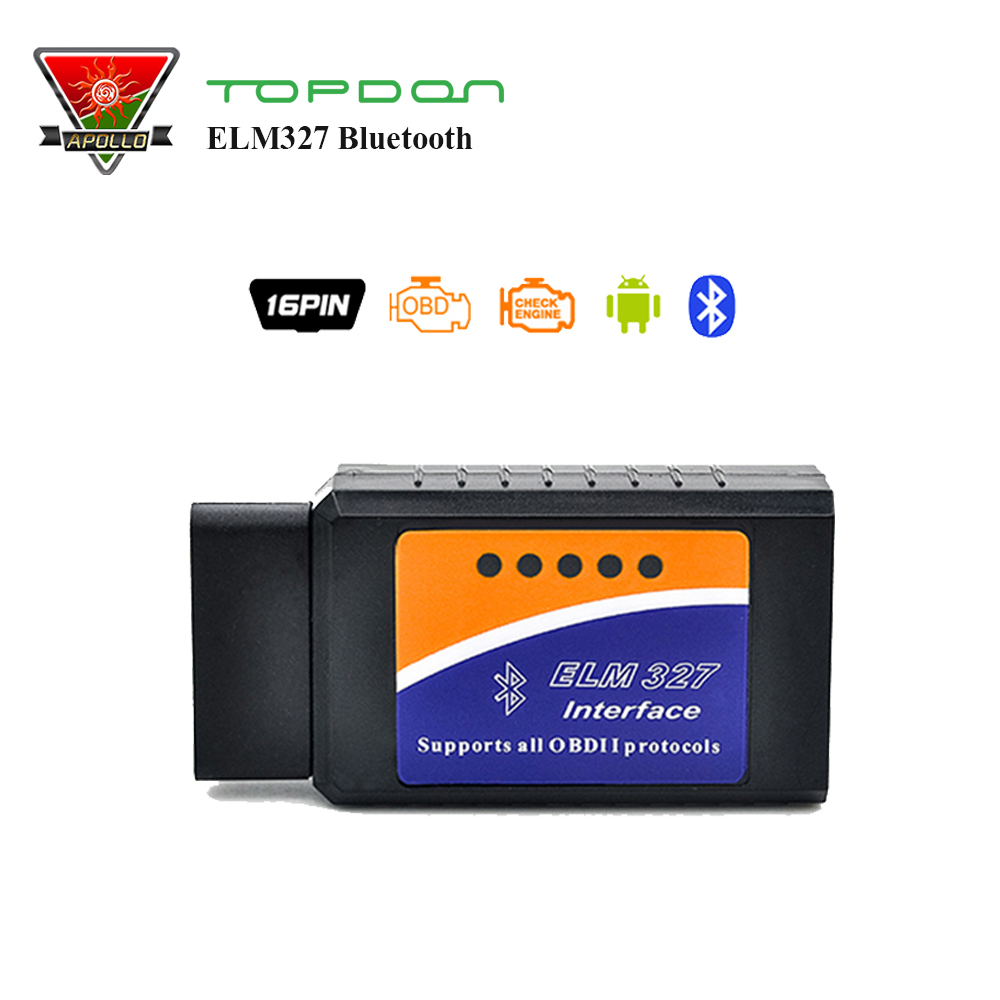 Obd 2 lecteur de code scanner elm327 elm 327 v1.5 bluetooth auto outil de diagnostic fonctionne sur windows android moins cher que Easydiag 2.0