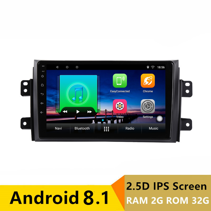 "9"" 2G RAM 32G ROM Android Car DVD Video Player GPS for Suzuki SX4 2006-2011 2012 2013 audio car radio stereo navigation BT wifi"