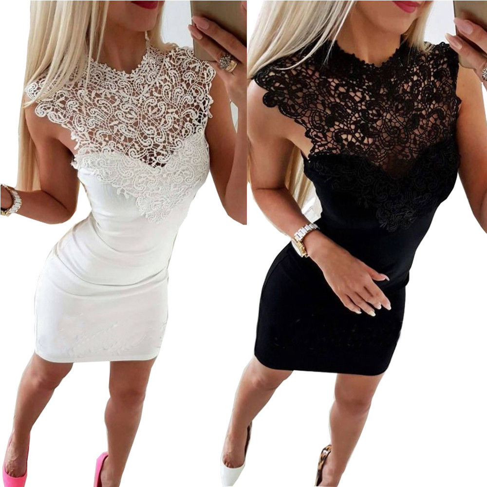 <font><b>Skirts</b></font> 2018 New Brand Women <font><b>Sexy</b></font> Lace Sleeveless <font><b>Bandage</b></font> <font><b>Bodycon</b></font> Slim Clubwear Evening Party <font><b>Pencil</b></font> <font><b>Skirts</b></font> image