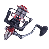 YUYU Sea Fishing Spinning Reel 8000 10000 12000 Metal Spool 13+1BB Saltwater Catfish Surfcasting Fishing Reel Distant Wheel