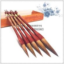 5 pçs/set Caligrafia Chinesa Escrita escova de cabelo Fuinha caneta Pintura Da Escova Mo Bi