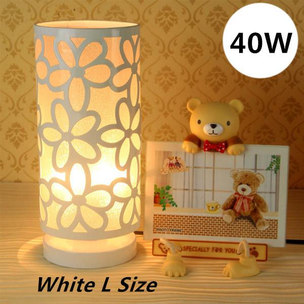 Elegante mesa lâmpadas 40 W Dimmable branco quente PVC máscara 3 cores M / L para leitura / estudo de iluminação / adultos mesa