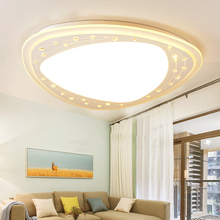 Modern Remote Control Dimmable LED Ceiling Lamp K9 Lustre Crystal Ceiling Light Acrylic Living Room Bedroom Lighting Fixtures
