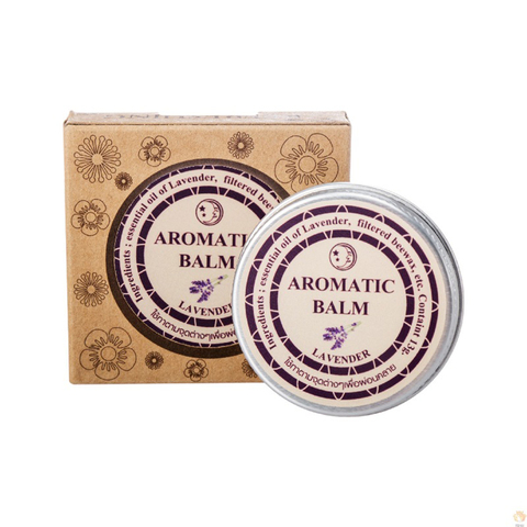 13g Effective Lavender Aromatic Balm Help Sleep Soothing Cream Essential Oil Insomnia Treatment Relieve Stress Cream TSLM1 Multan
