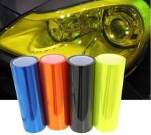 Car-Styling 30CMX100CM Auto Car Light Headlight Taillight Tint Styling Waterproof Protective Vinyl Film Sticker Car Accessories
