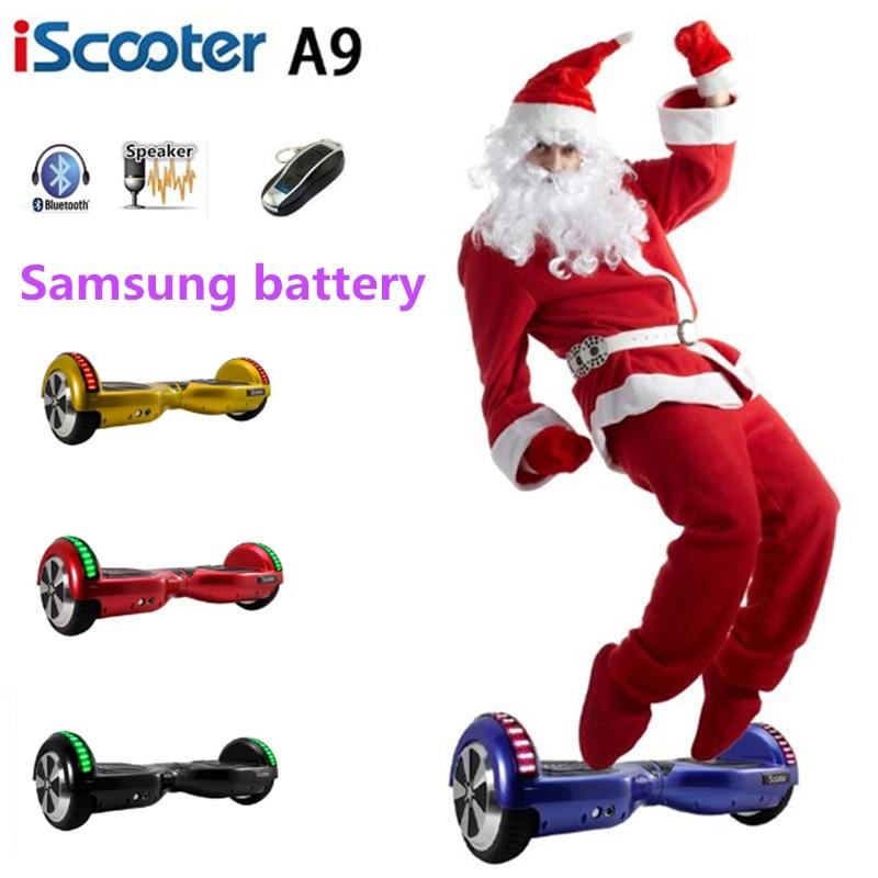 Sale For RU Hoverboard 2 Wheels Balance Self Balancing Scooter 6 5 Inch Electric Skateboard Smart