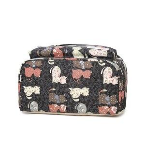 Image 5 - ZENBEFE Cute Backpack Quality Women Backpack Printing Backpacks For Girls Cat Pattern School Bag ForTeenagers Backpack Female