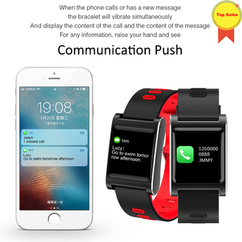 Original smartband factory smartwatches Heart Rate Fitness tracker Sports 1.0 inch color screen long Standby smartbracelet men