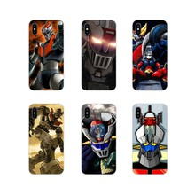 Mazinger Z Cover Aksesoris Ponsel Shell Cover untuk Samsung Galaxy S3 S4 S5 Mini S6 S7 Edge S8 S9 S10 lite Plus Note 4 5 8 9(China)