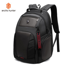 القطب الشمالي هنتر 15.6 بوصة مقاوم للماء USB محمول الرجال حقائب الرياضة دفتر ملاحظات للسفر حقيبة مدرسية عادية حزمة الذكور على ظهره Mochila Bolsas