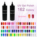 Lowest Price Sunrim Gel Polish Choose 1 Piece From 162 Colors Soak Off UV Led Nail Gel Polish 2000ml 2KG/bottle