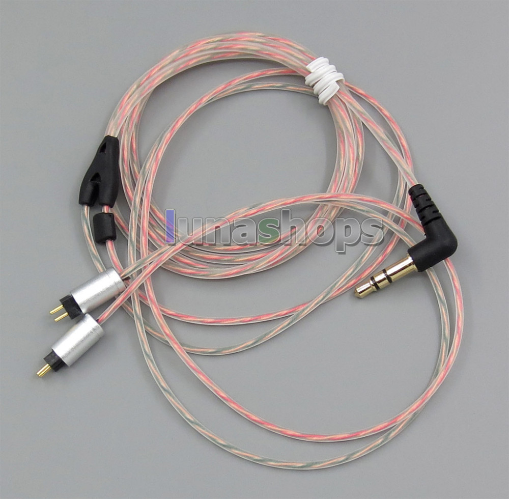 bilder für 5n ofc soft clear haut kopfhörer kabel für westone w4r jh audio 0,78mm pins ln004460