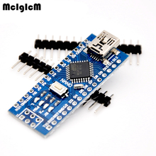 Free shipping ATmega328P For Nano V3 contrleur Board Compatible amliore Version Neuf For Arduino стоимость
