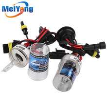 10pcs H7 HID Xenon Pure White Replacement Car 6000K 35W Headlight Headlamp Bulb Lamp parking Car Light Source цены