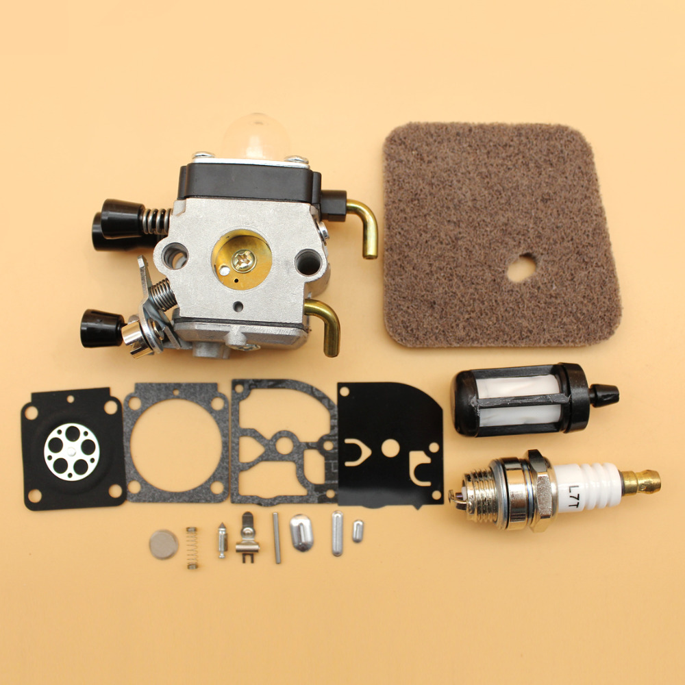 Carburetor Air Fuel Filter Repair Rebuild Kit Fit STIHL FS38 FS55 String Trimmer Strimmers avene avene раз кормящим свежий солнцезащитный спрей spf50 200мл