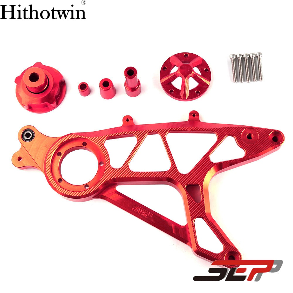 SEP Motorcycle Accessories CNC Aluminium Brake Swing-Arm Steering Suspension Structure Support Swing Arms For BWS X 125 xuankun beach car crank arm homemade four wheeled three wheeled motorcycle kart car modified front swing arm swing flange