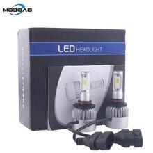 2PCS 8000lm car H1 H3 H7 H8 H9 880 881 LED bulb 40W 6000K LED car headlight z90 цена