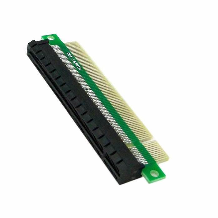 Image 2 - 100 шт./Riser PCI E x16 PCIe pci express 16x Мужской и Женский удлинитель адаптер конвертер для 1U 2U 3U ipc Шасси