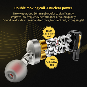 Image 2 - سماعات أذن QKZ AK4 داخل الأذن بشكل جهير وسماعات HIFI وسماعات DJ وسماعات أذن ستيريو معدنية مع ميكروفون للهاتف المحمول MP3 MP4 وشاومي