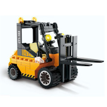 Forklift Truck Assembly Building Blocks Kit for Kids – Educational Blocks Toy