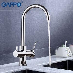 Image 2 - GAPPO Rubinetto Della Cucina lavello rubinetti ruotato chrome rubinetto della cucina rubinetto della cucina con acqua filtrata retro mixer rubinetti