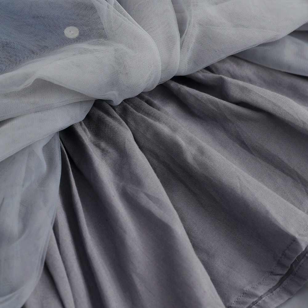 Платья для девочек 2018 кружевное платье принцессы джинсовой ткани с ремнем для девочек платье без рукавов хлопковое платье Детская Костюмы одежда для маленьких девочек От 3 до 7 лет