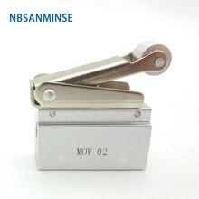Mov 1/8g резьба механический клапан пневматический контроль