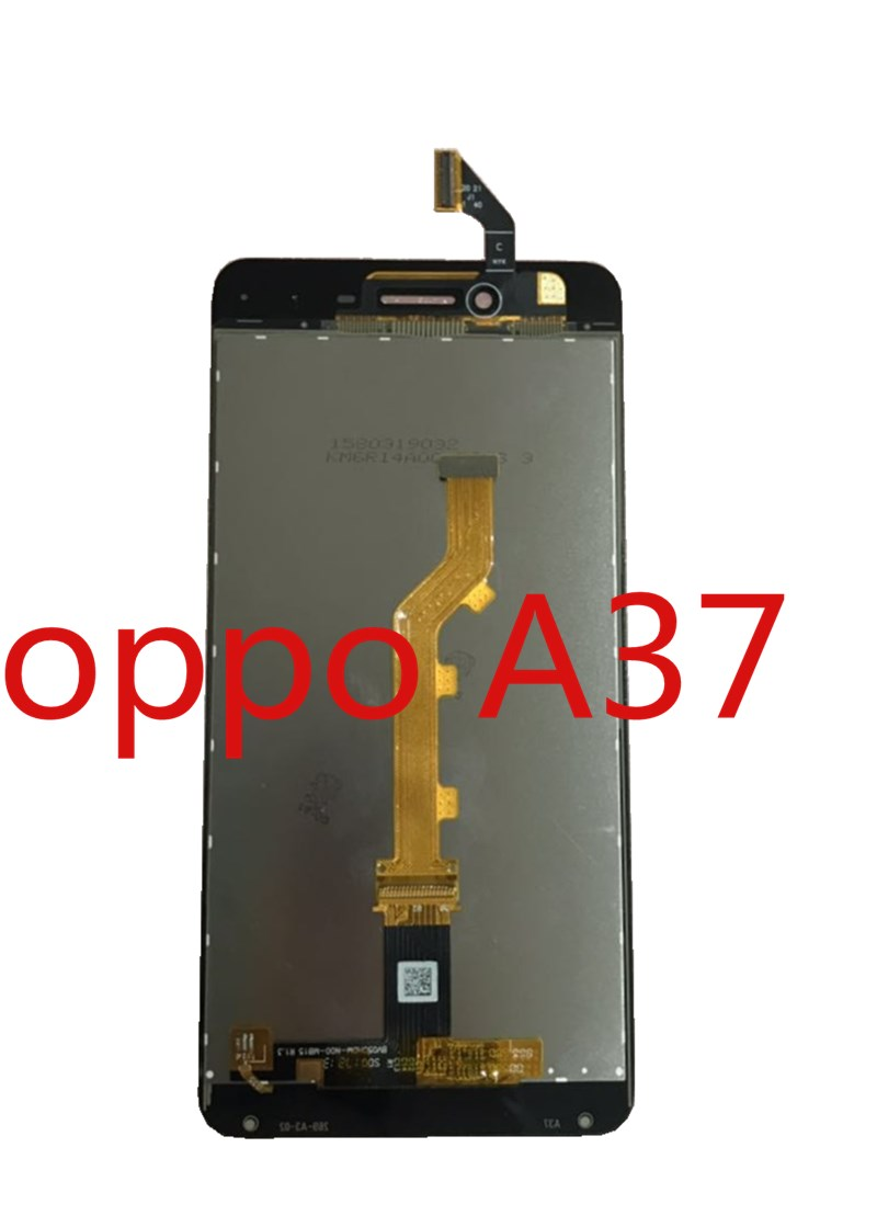 1PC/Lot High Quality 5.0'' For Oppo A37 A <font><b>37</b></font> <font><b>LCD</b></font> Display <font><b>Screen</b></font>+Touch <font><b>Screen</b></font> Digitizer Assembly Black Whit Color With Kits image