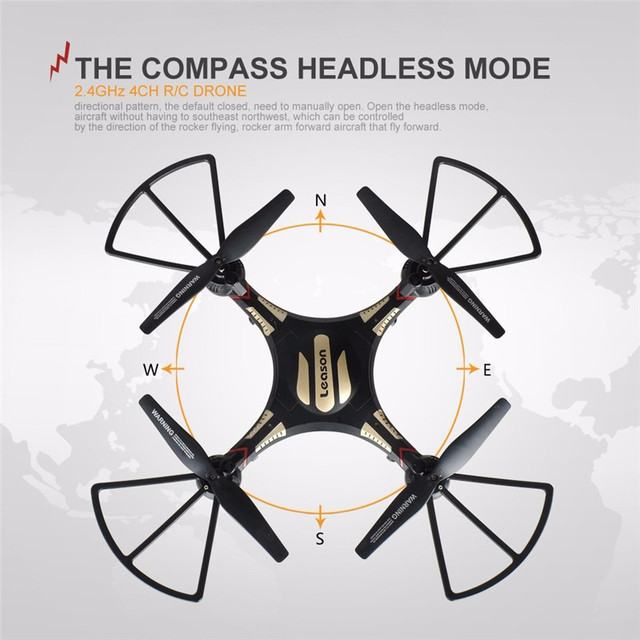 Professional  RC Remote Drone Quadcopter With Camera HD 720P Quad Copter Drone 4 CH 6 GYRO Headless 2.4G RC Helicopter Original