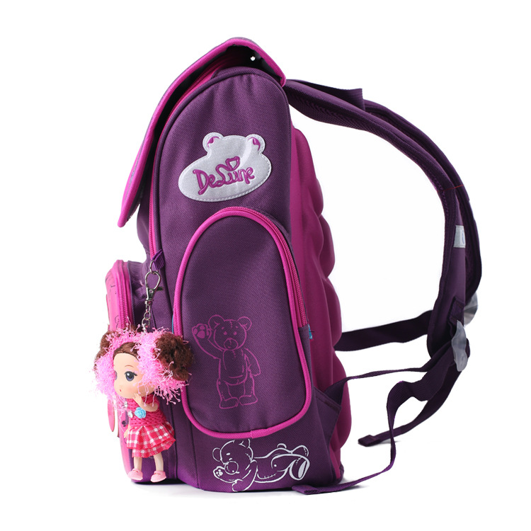 Delune School Bags for Girls Brand Children Backpack High Quality Bookbag  Primary Students Backpacks Princess Schoolbag for Kid-in School Bags from  Luggage ... 744a952630dcb