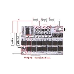 Image 3 - Carte de Protection de batterie au Lithium LMO de vie de Li ion LiFePO4 de 12V 100A 4S BMS