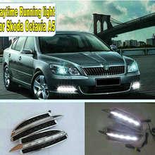 2PCs/set Car styling Daylight Daytime Running light led drl