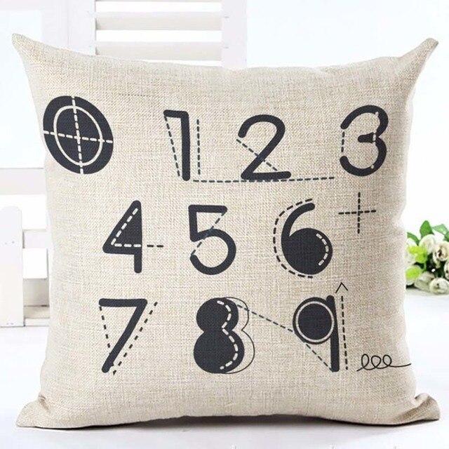 Home Linen Pillowcase Size: 45cm WT0057 Color: 13