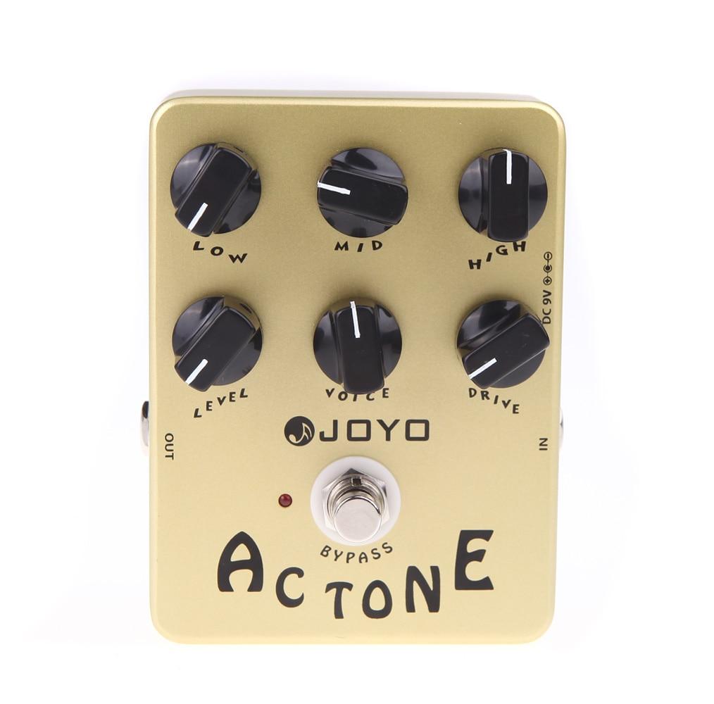 JOYO JF 13 Electric Guitar Pedal AC Tone Vox Amp Simulator Guitar Effect Pedal True Bypass